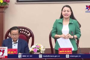 Kiểm tra công tác bầu cử tại Ninh Bình