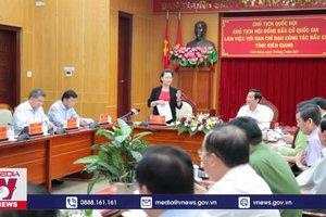 Chủ tịch Quốc hội chỉ đạo công tác bầu cử tại Kiên Giang