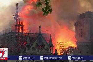 Nhà thờ Đức Bà Paris 2 năm sau vụ cháy