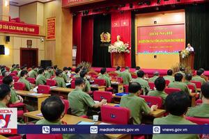 Hội nghị sơ kết công tác Công an 6 tháng đầu năm