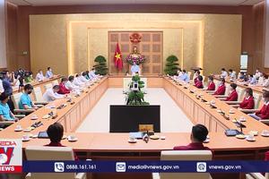 Thủ tướng gặp mặt Đoàn Thể thao Việt Nam dự Olympic Tokyo 2020