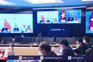 Chủ tịch Quốc hội hội đàm trực tuyến với Chủ tịch Quốc hội Singapore