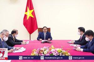 Thủ tướng Phạm Minh Chính điện đàm với Thủ tướng Hàn Quốc
