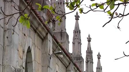 Nhà thờ đá hơn 100 năm ở Nghệ An