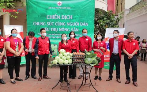 """Hơn 10 tấn rau củ được bán hết ngay trong ngày đầu chiến dịch """"Chung sức cùng người dân tiêu thụ nông sản"""""""