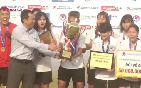 Khép lại giải U19 nữ Quốc gia 2021 thành công