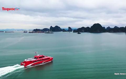 Thêm một tuyến tàu cao tốc từ cảng tàu khách quốc tế Hạ Long đi Cô Tô