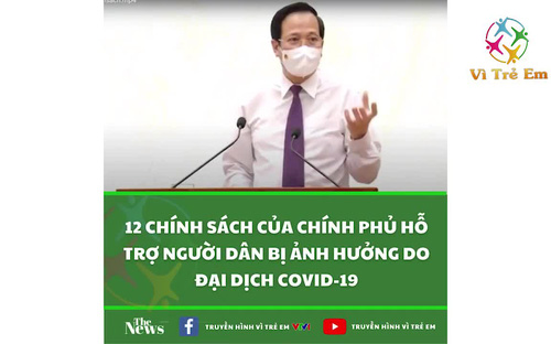 Bộ trưởng Đào Ngọc Dung thông tin về Nghị quyết hỗ trợ người lao động và người sử dụng lao động bị ảnh hưởng do dịch COVID-19
