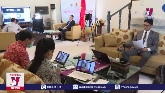 Hội thảo trực tuyến xúc tiến thương mại Việt Nam - Indonesia