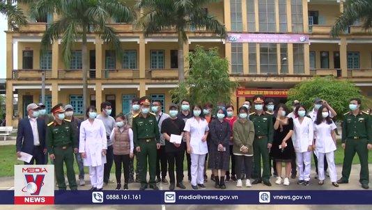 17 người hoàn thành cách ly y tế tại Hòa Bình
