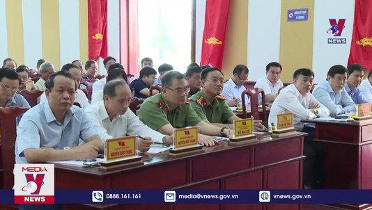 Bộ trưởng Bộ Công an tiếp xúc cử tri tại Từ Sơn