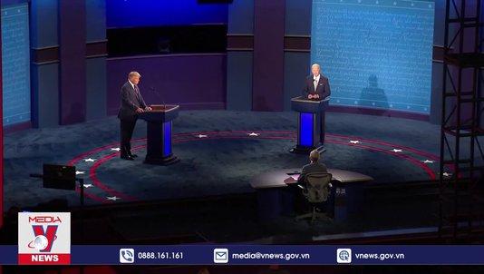 Cuộc tranh luận giữa hai ứng cử viên tổng thống Mỹ