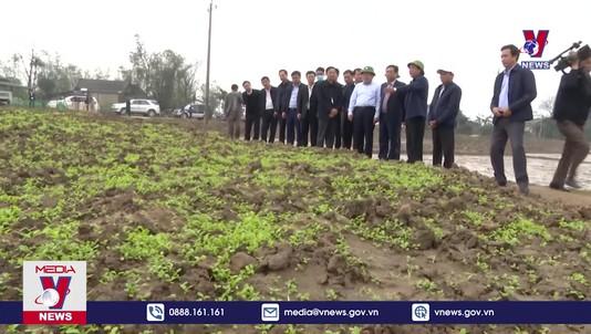 Kiểm tra sản xuất vụ Đông Xuân 2021 tại Quảng Trị