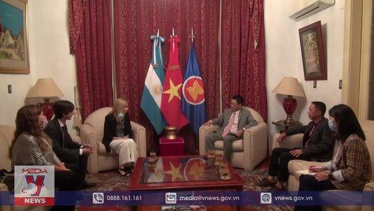 Hãng thông tấn Quốc gia Argentina tăng cường hợp tác với TTXVN