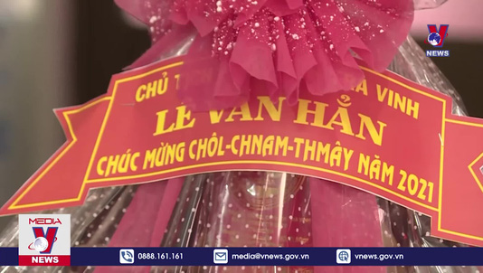 Trà Vinh thăm và chúc tết cổ truyền đồng bào Khmer