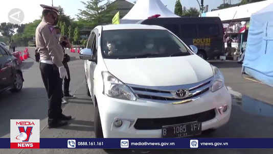 Indonesia siết chặt công tác chống dịch sau kỳ nghỉ lễ