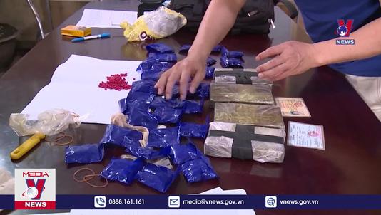 Điện Biên bắt 1 đối tượng vận chuyển lượng lớn ma túy
