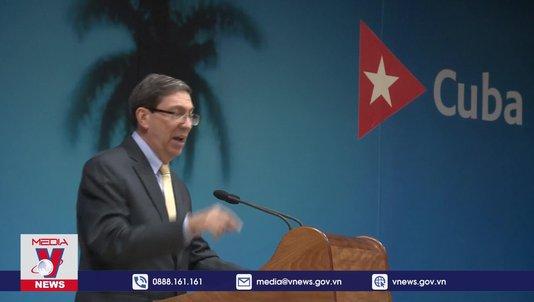 Cuba lên án các lệnh trừng phạt mới của Mỹ