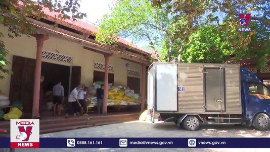 Quảng Trị hỗ trợ trên 820 tấn hàng hóa cho các tỉnh phía Nam