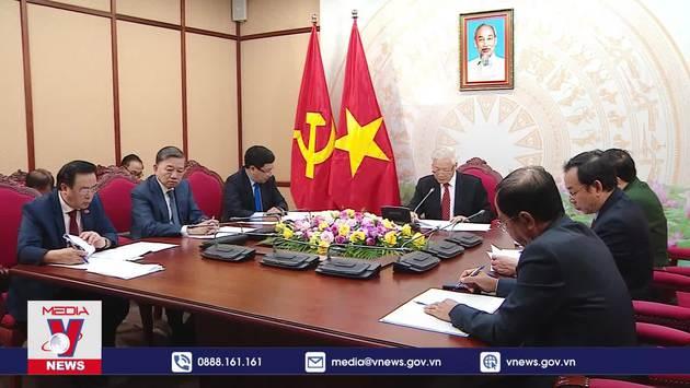 Điện đàm cấp cao Việt Nam - Trung Quốc