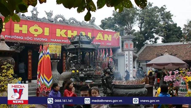 Không tổ chức Khai Ấn đền Trần và chợ Viềng Xuân 2021