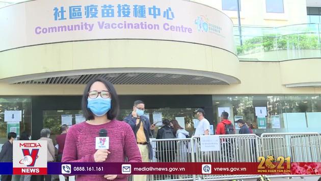 Hong Kong (Trung Quốc) bắt đầu tiêm vaccine ngừa COVID-19 cho 5 đối tượng ưu tiên