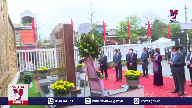 Kỷ niệm 110 năm ngày sinh đồng chí Lê Thanh Nghị
