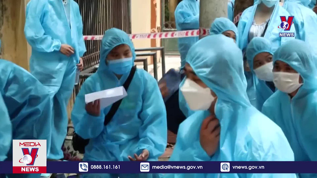 Lạng Sơn đón công nhân từ Bắc Giang về địa phương