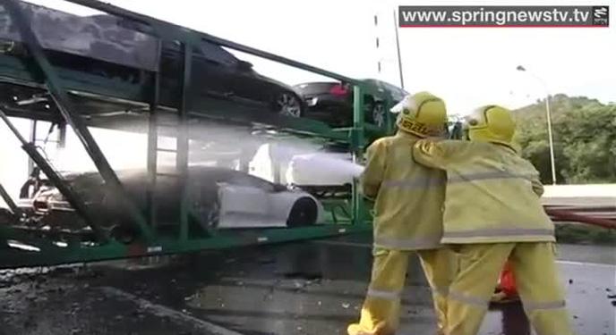 4 chiếc xe bị cháy tại Thái Lan đều là hàng lậu