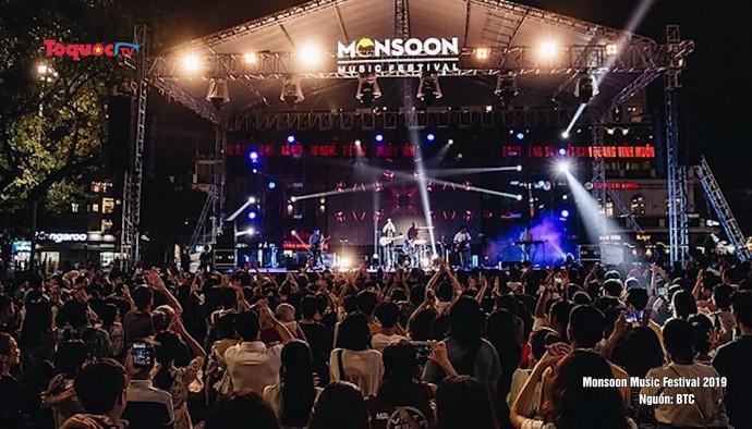 Lễ hội âm nhạc Monsoon Music Festival đồng tổ chức dự án ASEAN Music Showcase 2021