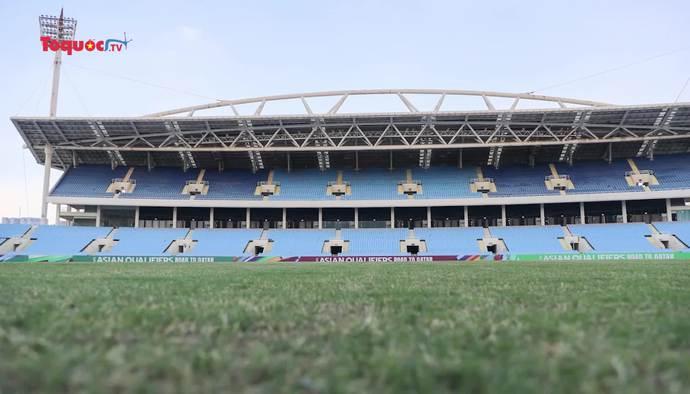 Đẩy nhanh tiến độ nâng cấp, sửa chữa sân vận động Quốc gia Mỹ Đình